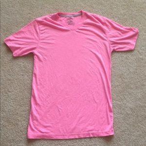 Men's pink t shirt